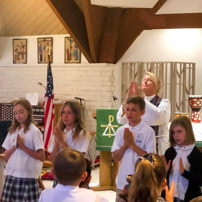 St. Patrick's Episcopal Day School welcomes families of all faiths, or none.