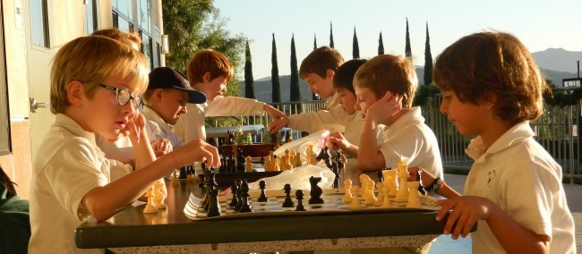 St. Patrick's After School Chess Program